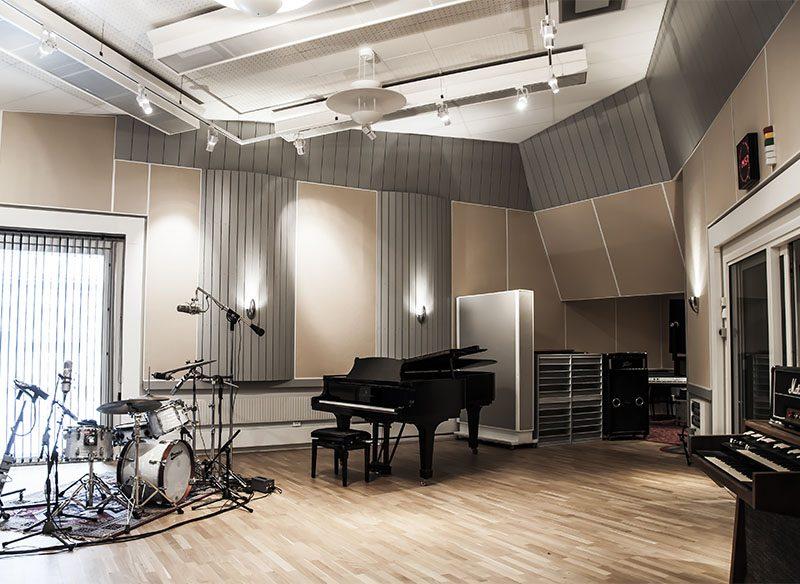 Inspelningsrum studio A